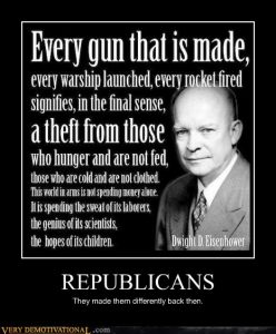 republicans. They made them different back then.